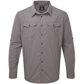 Sherpa Ravi Camisa Manga Larga Hombre, monsoon grey